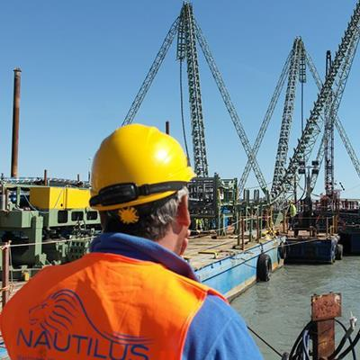Green trenching - Nautilus