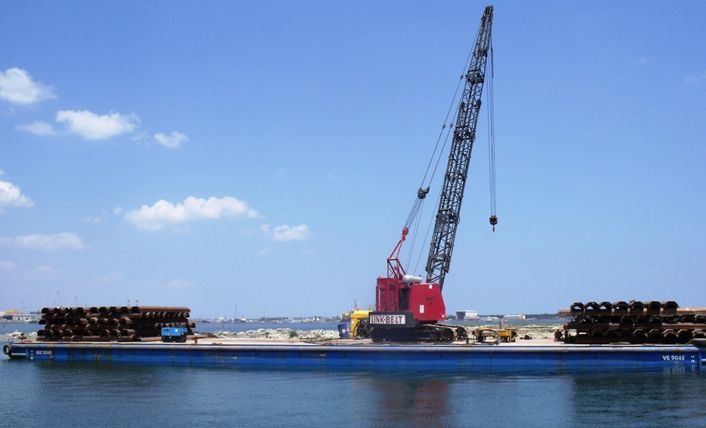 link belt macchine da costruzione Pontone_SEC_1